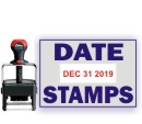 Shiny® Date Rubber Stamps - Rubber Stamp Champ - Free Shipping