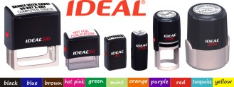 RubberStampchamp.com Offers Self Inking Address Rubber Stamps From  Ideal At Knockout prices.
