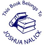 Library Stamps/Seals customized with your name! Free shipping and fast service at RubberStampChamp.com.