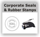 Corporate rubber stamps and seals. Engineer seals. Architect stamps. EZ Order by state. Business Rubber Stamps.  Secure ordering. Free Shipping.