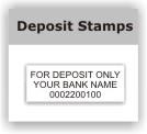 Deposit Stamps