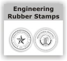 Engineering and architect stamps and seals made to your state's specifications. Easy order and free shipping on orders over $10.