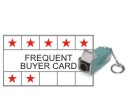 Rubber Stamps for Frequent Buyer Cards