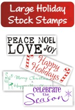 Holiday Rubber Stamps. Santa. Christmas trees. Merry Christmas. Stars, candy canes and more. Self Inking. Secure order online. RubberStampChamp.com Knockout Prices.