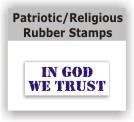 Patriotic and Religious Stamps