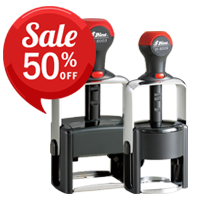 Shiny Heavy Duty Self-Inking Stampers