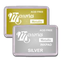 Memories Metallic Pigment Stamp Pads