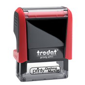 Trodat Clothing Rubber Stamp