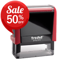 Trodat Self-Inking Rubber Stamps