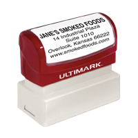 Ultimark Pre-Inked Rubber Stamps