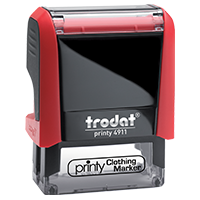 Trodat Clothing Stamp