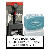 Custom Deposit Stamps