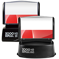 2000 Plus HD Series Quick Dry Stamps