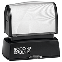 2000 Plus HD Series Pre-Inked Rubber Stamps