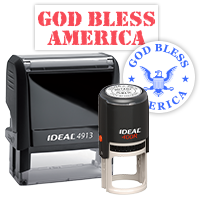 Patriotic Rubber Stamps