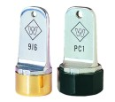 Metal Inspection Stamps Use with separate ink pad