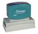 Xstamper custom logo rubber stamps in all sizes. Design pre-inked, self-ink and hand stamps. Secure. Top quality. Knockout Prices and free shipping on custom made rubber stamps.