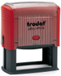Customize free with text or your logo in your choice of 11 ink colors.  Ships in 1-2 business days.  Top quality Trodat 4926 self-inking stamp.  Orders ship free over $10.
