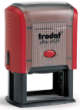 Customize free with text or your logo in your choice of 11 ink colors.  Ships in 1-2 business days.  Top quality Trodat 4929 self-inking stamp.  Orders ship free over $10.
