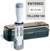 Stock and custom date stamps from Ideal®, Shiny®, JustRite®, Cosco® and Xstamper®. Rubber Stamps at Knockout Prices from Rubber Stamp Champ.