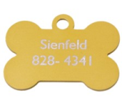 Knick knack paddy whack get your dog a bone shaped engraved tag at RubberStampchamp.com