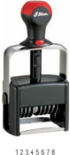 Heavy duty self-inking number stamps up to 18 bands. Easy order and free shipping on orders over $10.
