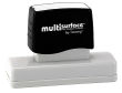 Permanent multi-surface IS-26 pre-inked rubber stamp quick dries on glossy paper, CDs, metal, plastic and more.  Free Shipping on order over $10.