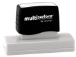 Permanent multi-surface IS-72 pre-inked rubber stamp quick dries on glossy paper, CDs, metal, plastic and more.  Free Shipping on order over $10.