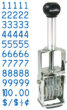The JustRite® B372 Price Marker is a high quality, low-cost stamp designed for dependable, trouble-free performance.  Widely used in grocery, drug, department stores and supermarkets.  Character height approx. 1/4 tall.  Impression is approximately 1-1/4