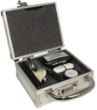 "Secure your notary stamps, signature stamps, seals, CD's, DVD's, IPODS, etc. in this sturdy metal box with combination lock.  We have included foam that compresses easily and forms to the product that is enclosed.  Locking case dimensions:  5-1/4""W x 6-1/"