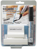 Redacting rubber stamps. Redacting markers. Xstamper Identity Theft Protection Kit. RubberStampChamp.com. Free shipping.