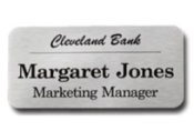 Custom Engraved Desk Name Plates at Knockout Prices from www.RuberStampChamp.com. Free Shipping. EZ-Online design, proof and order. Secure. Save big on name badges and desk signs.