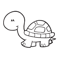 Turtle self-inking rubber stamp available in your choice of 4 sizes and 11 ink colors. Refillable with Ideal ink. Orders over $45 ship free!