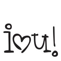 I Love You self-inking rubber stamp available in your choice of 4 sizes and 11 ink colors. Clear impressions. Reink with Ideal ink. Orders over $45 ship free.