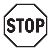 Stop sign self-inking rubber stamp available in your choice of 4 sizes and 11 ink colors. Clear impressions; reink with Ideal ink. Orders over $25 ship free.