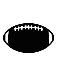 Football self-inking rubber stamp available in your choice of 4 sizes and 11 ink colors. Clear impressions; reink with Ideal ink. Orders over $25 ship free.