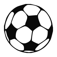 Soccer ball self-inking rubber stamp available in your choice of 4 sizes and 11 ink colors. Clear impressions; reink w/ Ideal ink. Orders over $45 ship free.