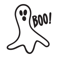 Ghost boo self-inking rubber stamp available in your choice of 4 sizes and 11 ink colors. Clear impression and reink w/ Ideal ink. Orders over $45 ship free.