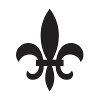 Fleur de Lis self-inking rubber stamp available in your choice of 4 stamp sizes and 11 ink colors. Reinkable with Ideal ink. Online orders over $25 ship free.