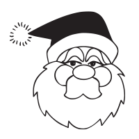 Have a laugh and some fun with our self-inking grumpy Santa round holiday rubber stamp and choose from 11 ink colors, 4 sizes. Orders over $45 ship free!
