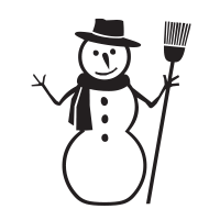 Get creative this season! Our fun Frosty the snowman self-inking round holiday rubber stamp. Choose from 11 ink colors and 4 sizes! Orders over $45 ship free!