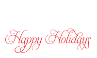 Stamp your holiday cards and notes with a self-inking Happy Holidays stamp written in calligraphy. Choice of 11 ink colors. Free shipping orders over $45!