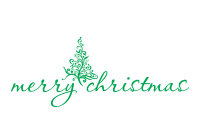 Stamp your holiday cards & notes with a self-inking Merry Christmas w/ Painted Tree holiday rubber stamp. 11 ink color options. Free shipping orders over $45!