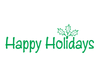Create lovely holiday cards with a self-inking Happy Holidays w/ leaves of holly stamp. Your choice of 11 ink colors. Free shipping on orders over $45!