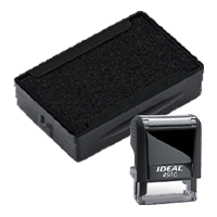 Ideal 6/4910 replacement pad that fits the Ideal 4910 self-inking stamp. 11 ink colors to choose from with free shipping on orders over $45.
