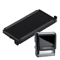 Ideal 6/4914 replacement pad that fits the Ideal 4914 self-inking stamp. 11 ink colors to choose from with free shipping on orders over $15.