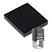 Ideal 6/4924 replacement pad that fits the Ideal 4924 self-inking stamp. 11 ink colors to choose from with free shipping on orders over $45.
