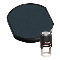 Ideal R-400R replacement pad that fits the Ideal 400R self-inking stamp. 11 ink colors to choose from with free shipping on orders over $45.