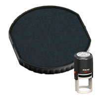 Ideal R-500R replacement pad that fits the Ideal 500R self-inking stamp. 11 ink colors to choose from with free shipping on orders over $45.