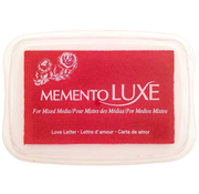 "This 3-13/16"" x 2-11/16"" stamp ink pad comes in love letter, red, and is a rich bendable pigment excellent for many surfaces. Ships free in 1-2 business days!"